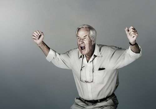 Dementia Can Cause a Lack of Inhibitions such as Angry Outbursts