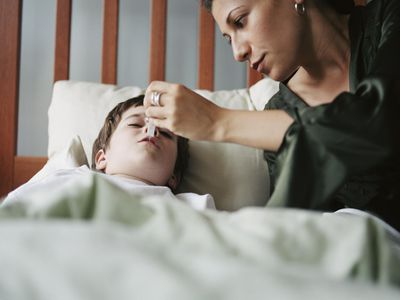 Caring for a sick child