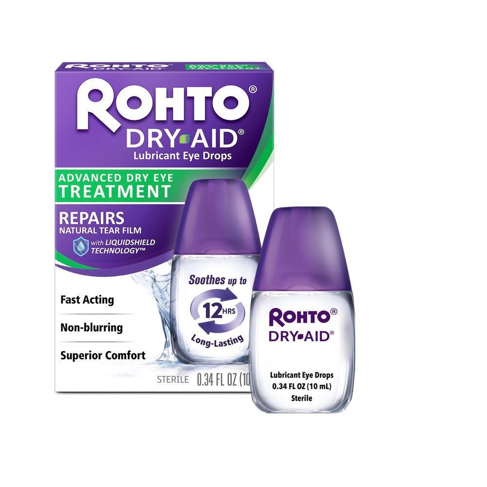 Rohto Dry Aid Lubricating Eye Drops