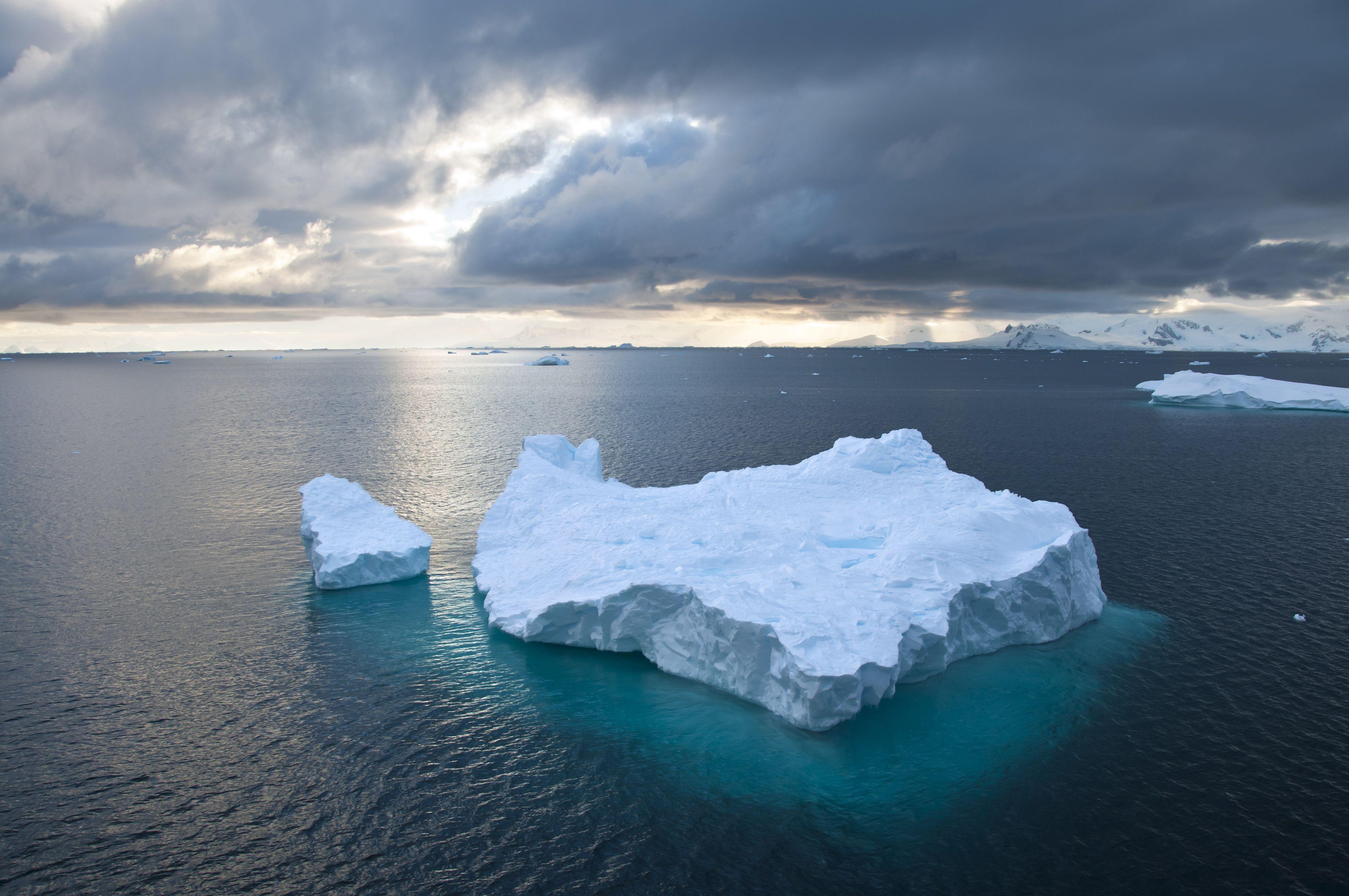 floating iceberg