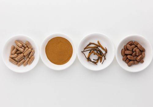Cordyceps powder, tablets, dried and capsules