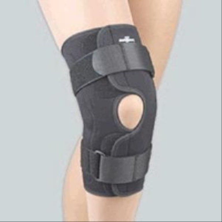 Wrap around knee support.