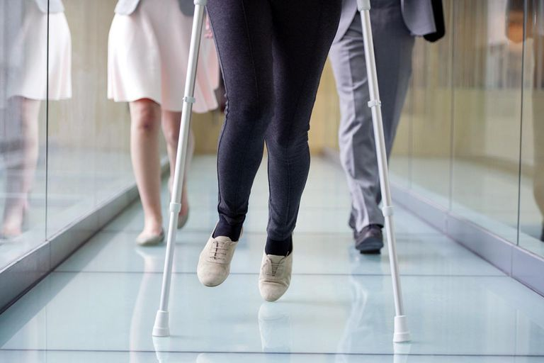 How To Walk With Crutches Safely
