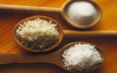 Three types of salt