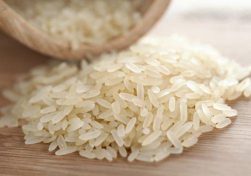 uncooked rice