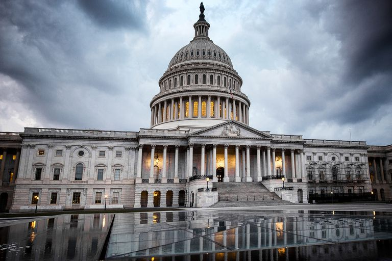 United States Capitol Building: Calm Before The Storm
