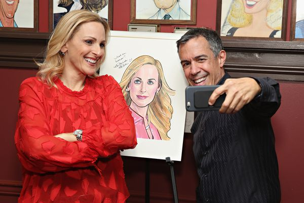 Jack Jason and Marlee Matlin