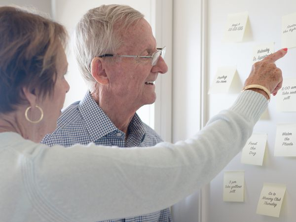 Dementia causes memory decline and confusion