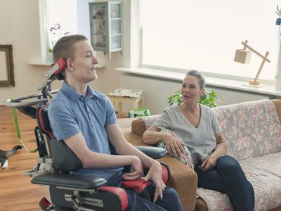 Mom caring for son with ALS