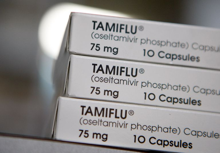 boxes of tamiflu