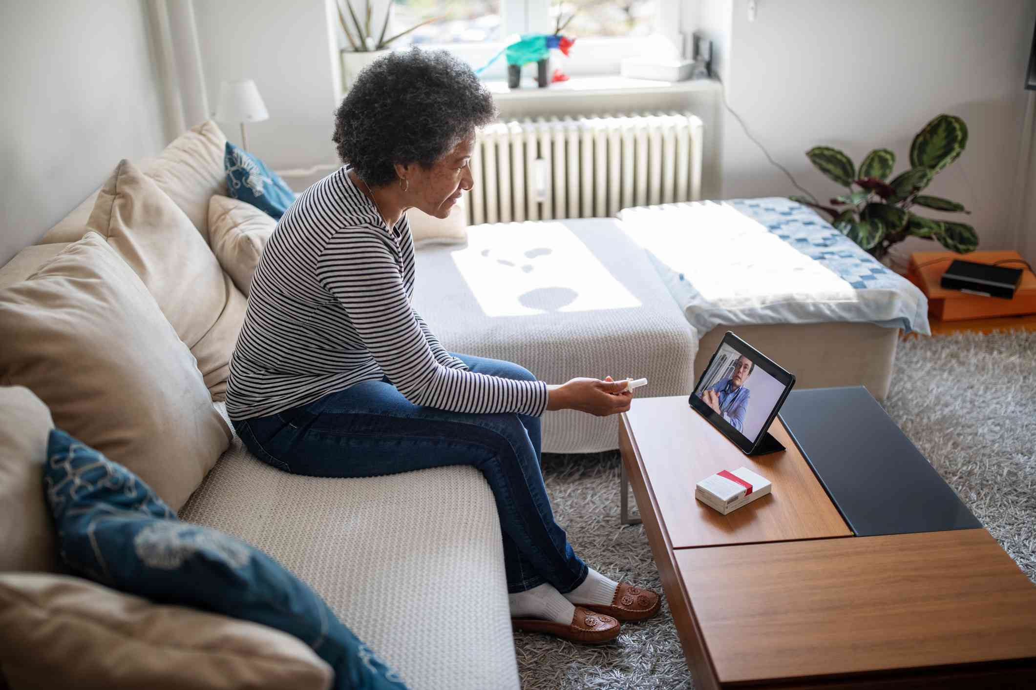 Telemedicine for rheumatoid arthritis appointments