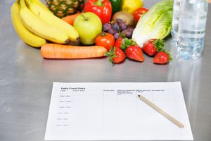 Daily Food Diary And Healthy Eating Options