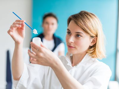 Medical consultation with a gynecologist