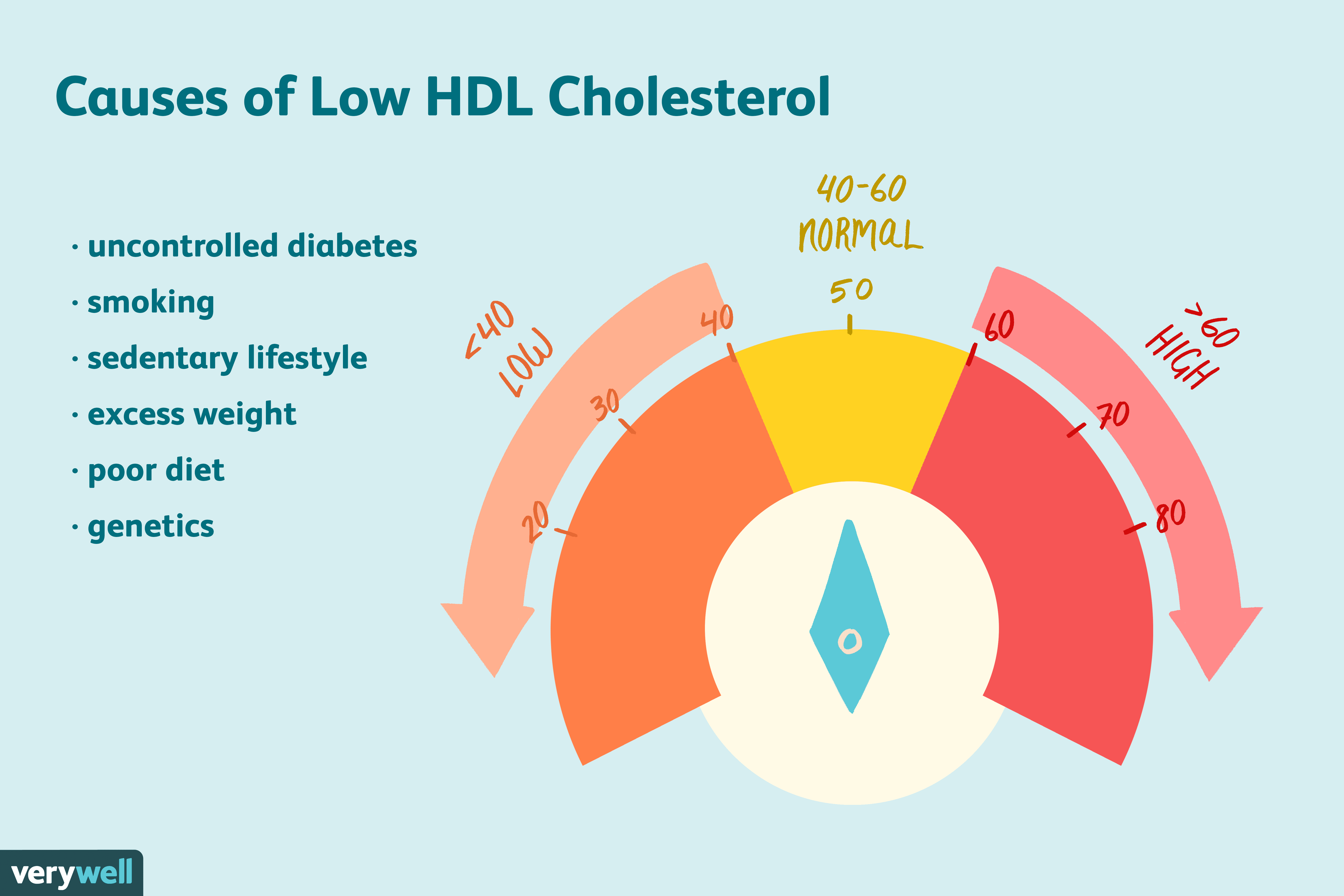 What Causes Low Hdl Cholesterol Levels