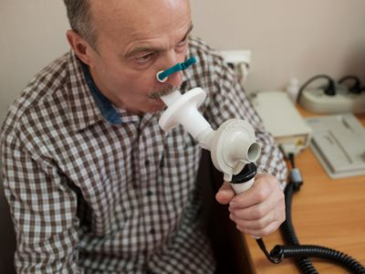 Spirometry measures inspiratory capacity