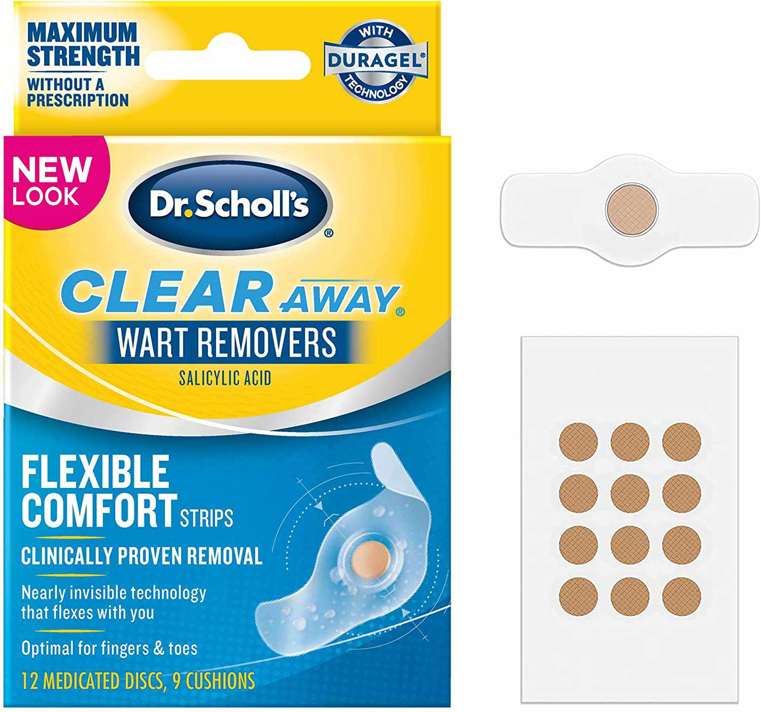 Dr. Scholl's ClearAway Wart Remover with Duragel Technology