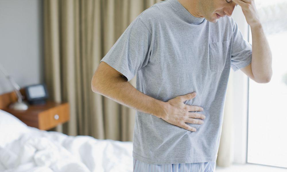 stomach flu or gluten?