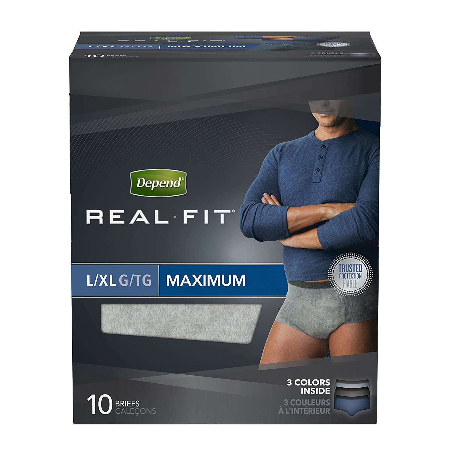 Depend Real Fit Incontinence Underwear for Men