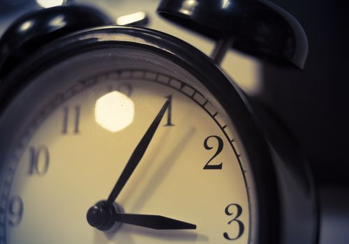 alarm clock face