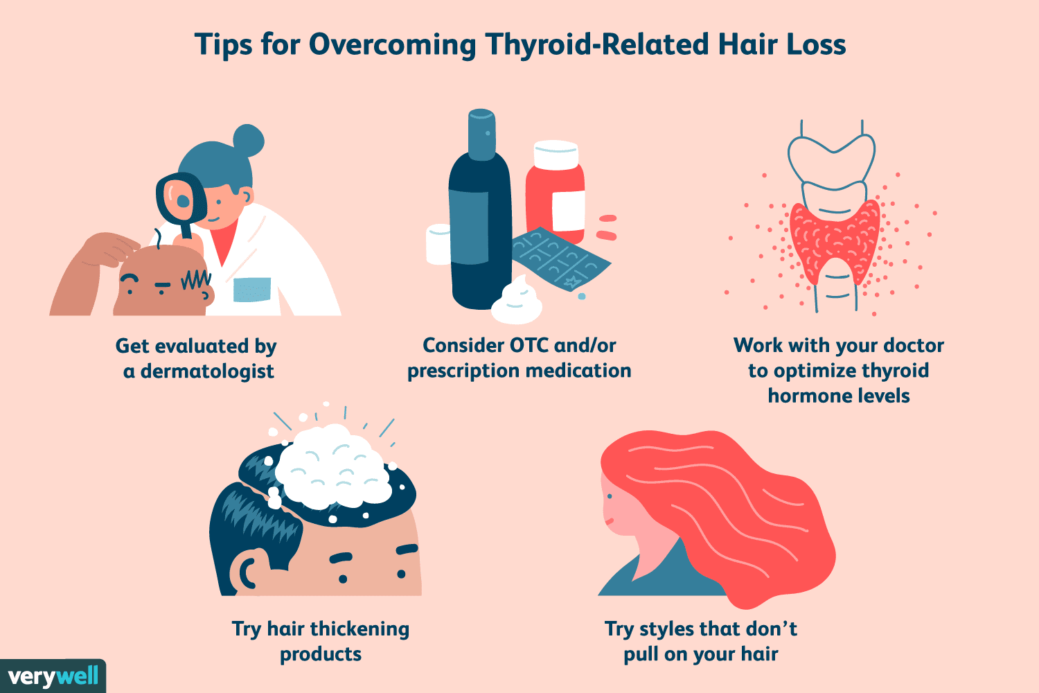 Tips for overcoming thyroid-related hair loss