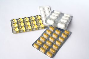 probiotic supplements in blister packs