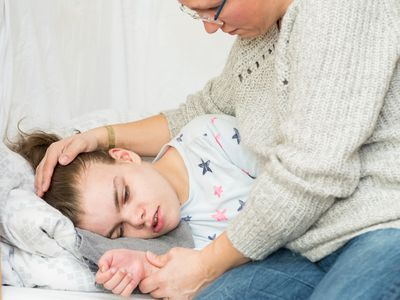 With Dravet syndrome, seizures can be preciptated by a fever