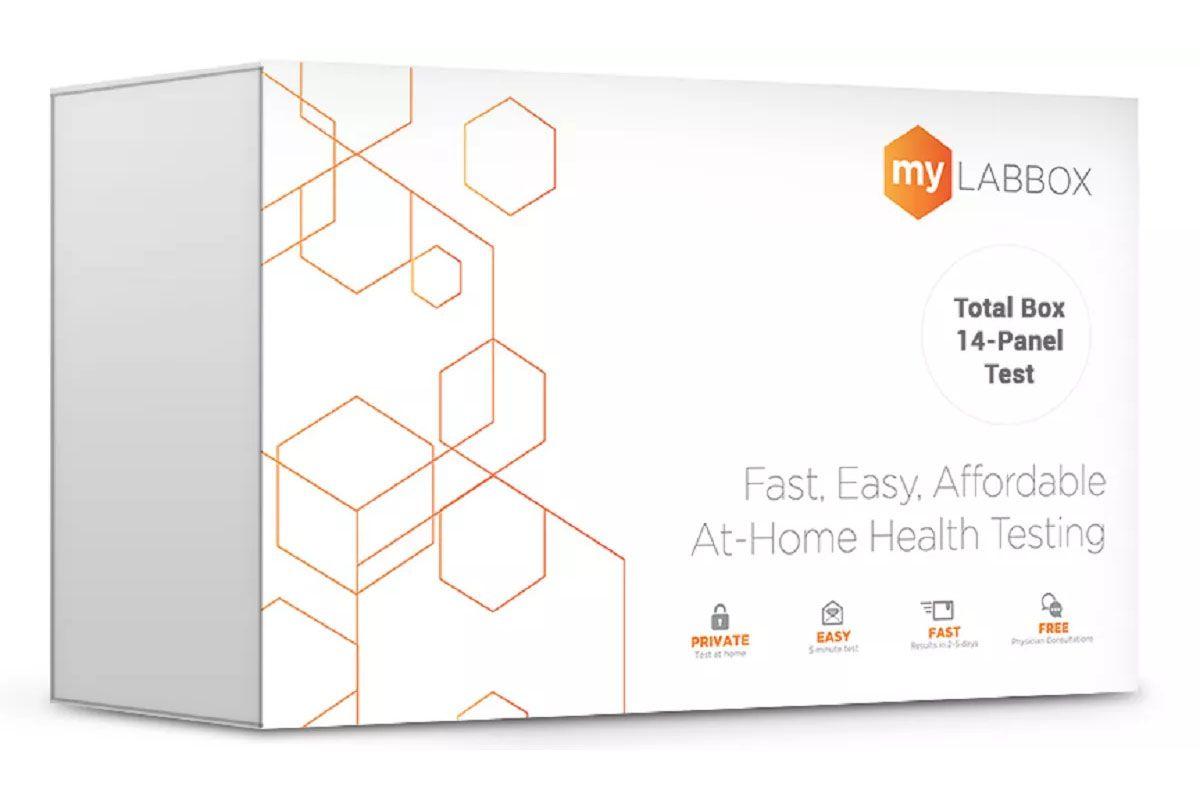 My LabBox 14-Panel At Home STD Test Kit