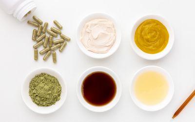 Neem capsules, powder, tincture, oil, and creams