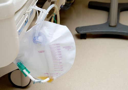 Urinary catheter bag