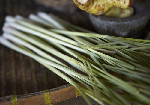 Lemongrass on a table