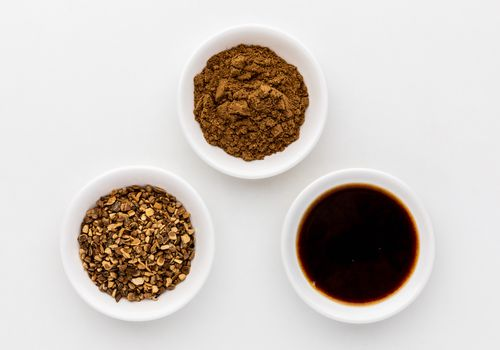 Prickly ash powder, dried bark, tincture