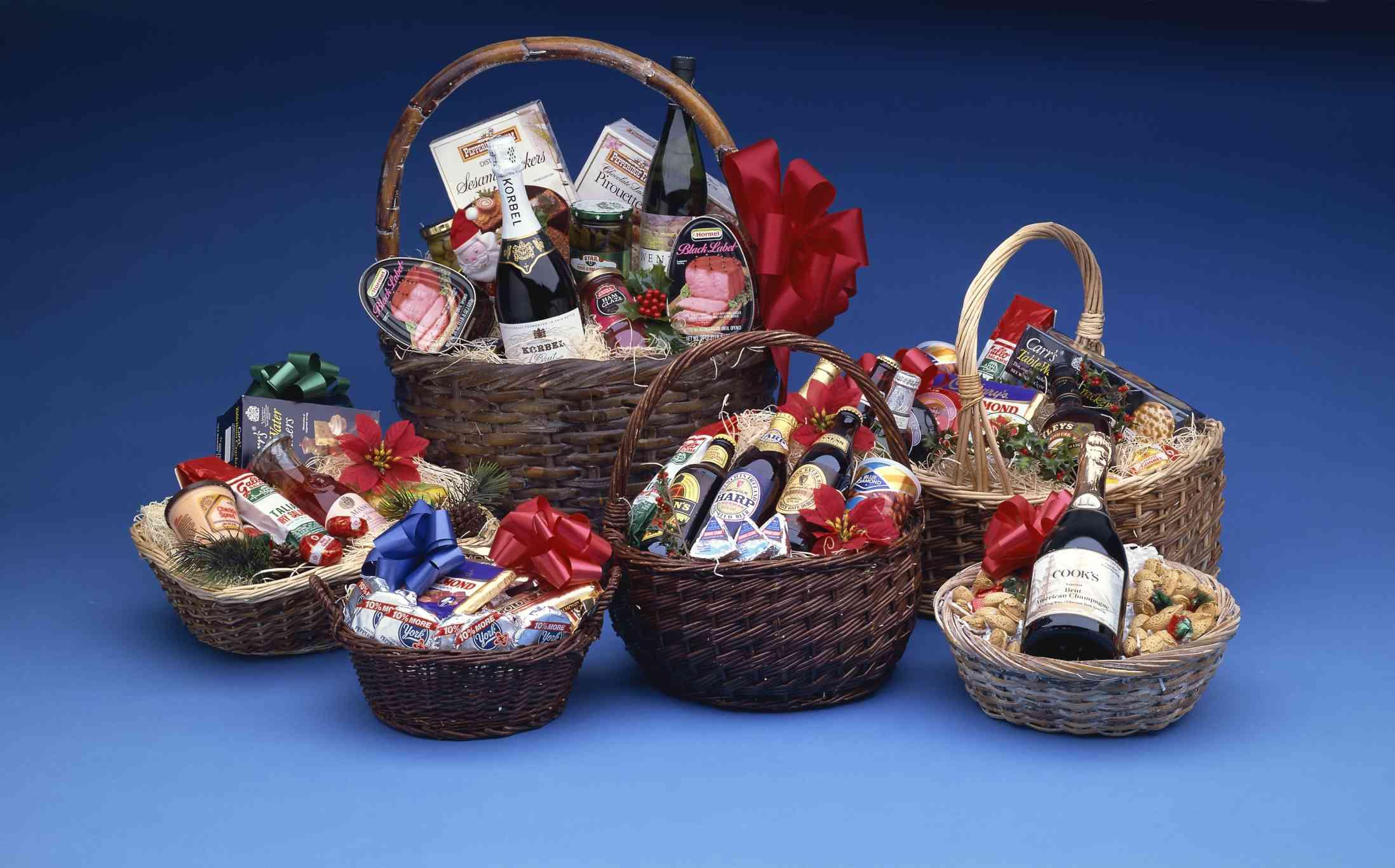 Diabetes Friendly Food And Beverage Gift Basket Ideas