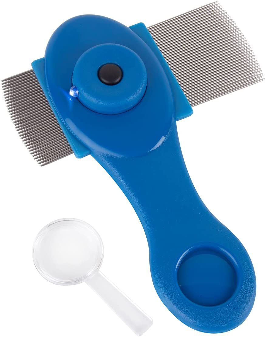EZY DOSE Stainless Steel Lice Comb
