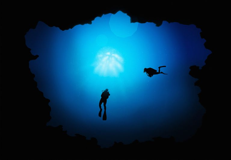 Deep divers may experience barotrauma