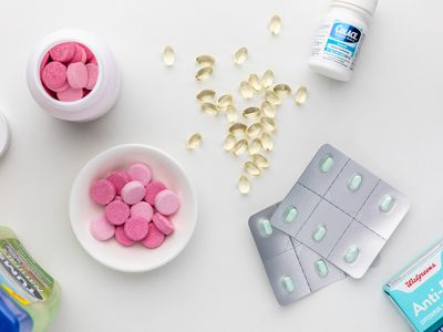 Tums, anti-diarrhea tablets, and colace