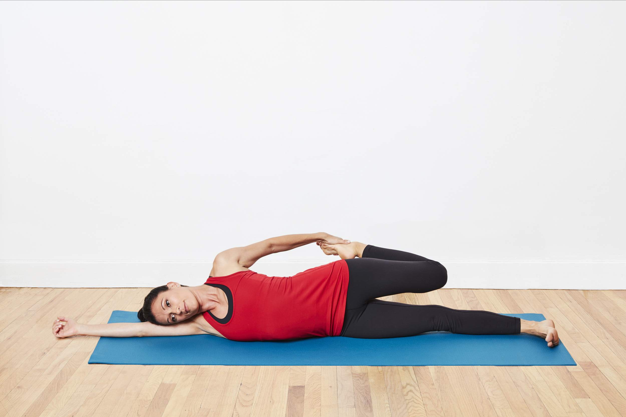 Sidelying Quadricep Stretch