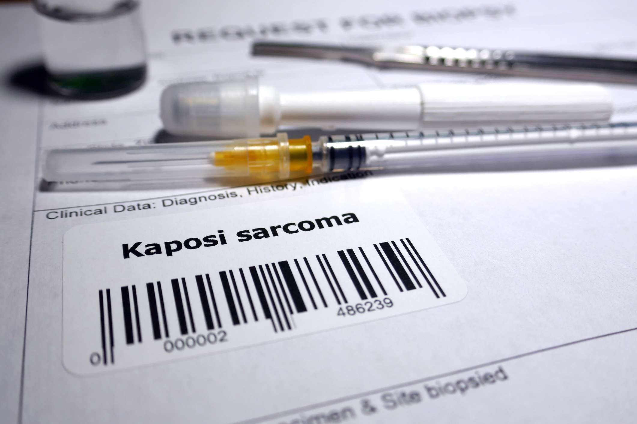 Request for biopsy paperwork - Kaposi sarcoma