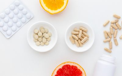 Diosmin capsules, tablets, grapefruit, and orange