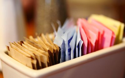 Artificial Sweetener Packets.