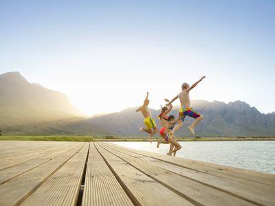family fitness challenge - kick off