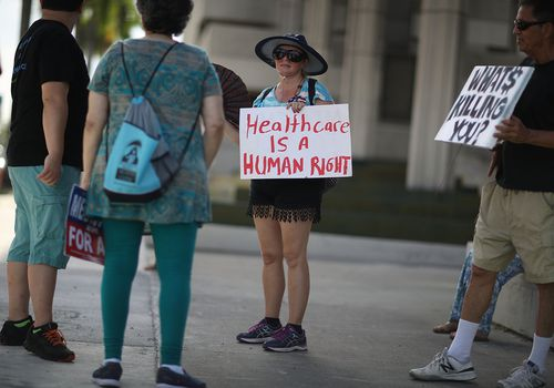 'Medicare For All' Rallies Held Across U.S. Ahead Of Senate Health Care Vote