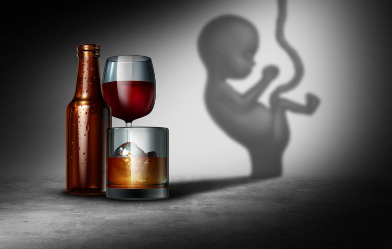 Alcohol During Pregnancy Can Cause Fetal Alcohol Syndrome
