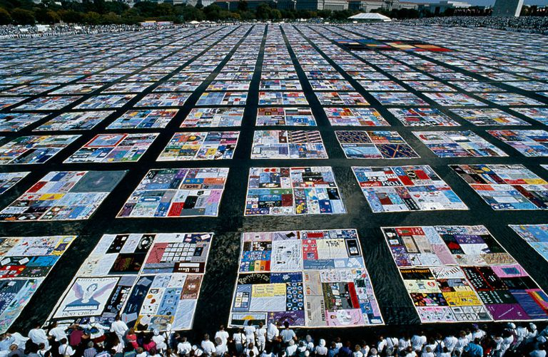 The History Of The Names Aids Memorial Quilt