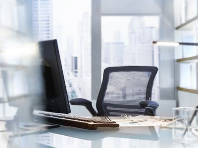 Ergonomic chairs may help relieve neck or back pain.