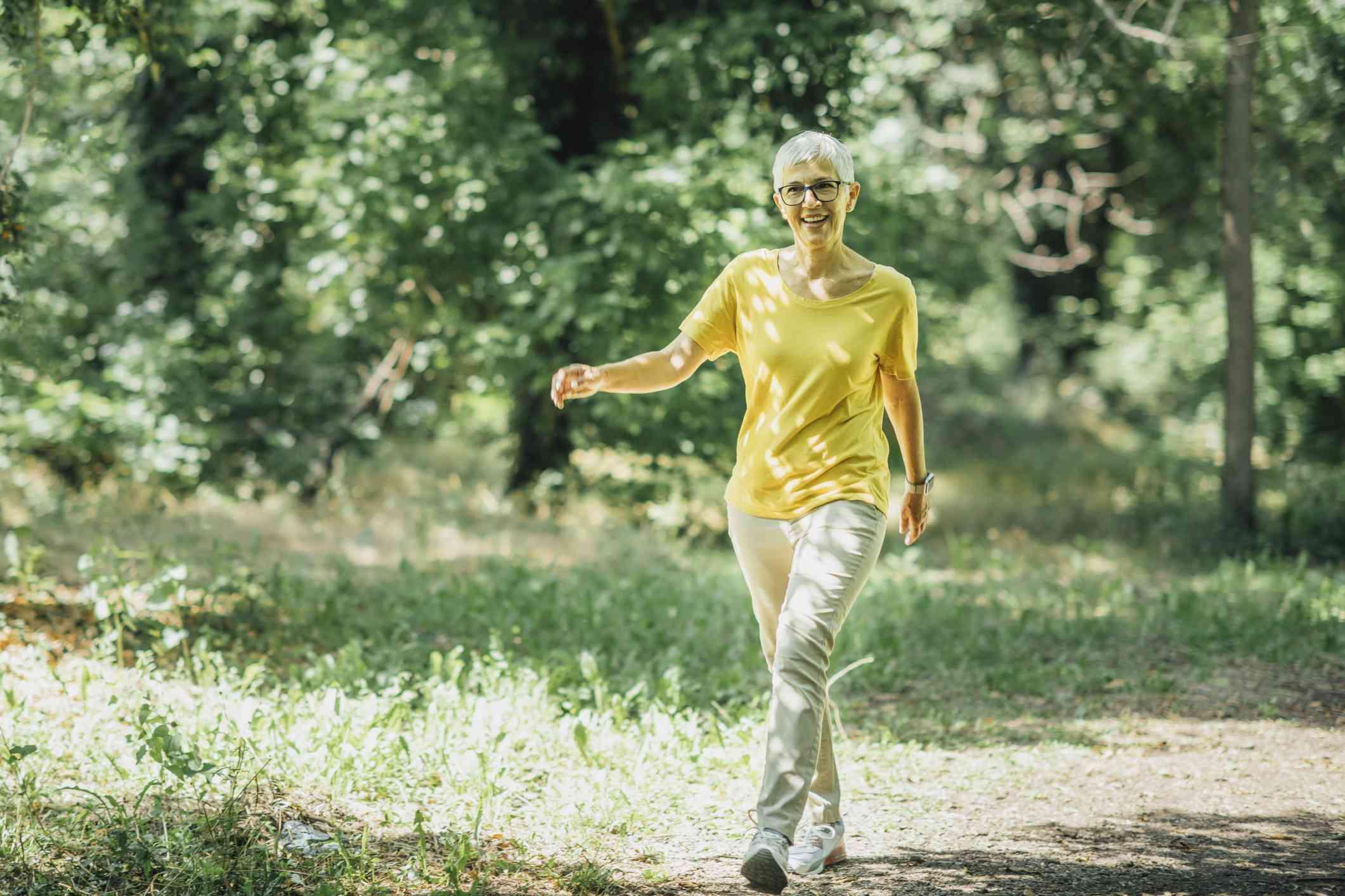 Walking in menopause