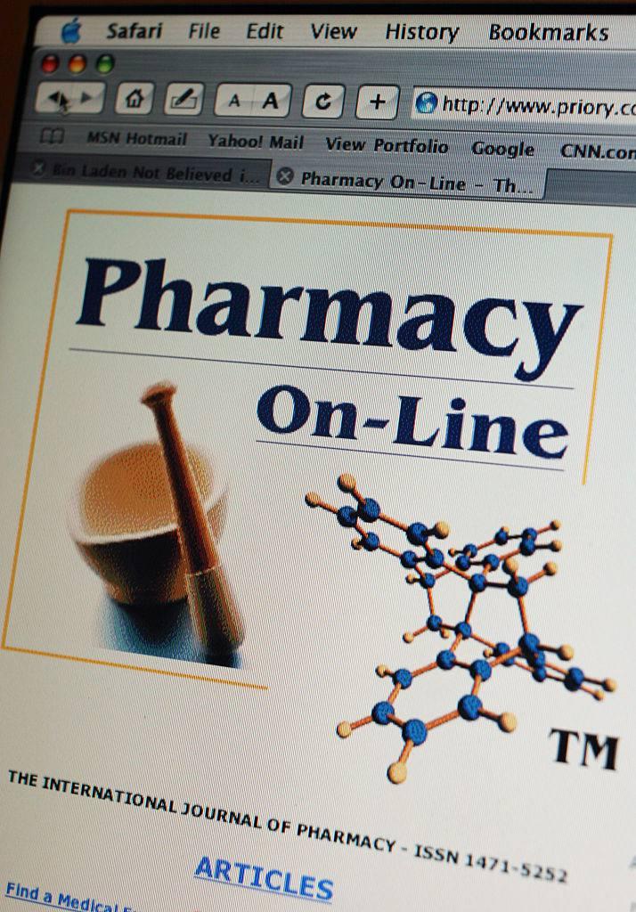 Online Pharmacy Site