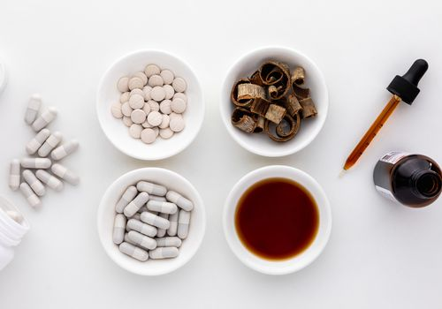 Magnolia dried bark, capsules, tablets, and tincture
