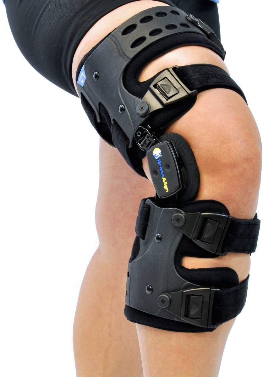 Best Unloader Brace: Osteoarthritis Unloader Adjustable ROM Stabilizing Knee Brace