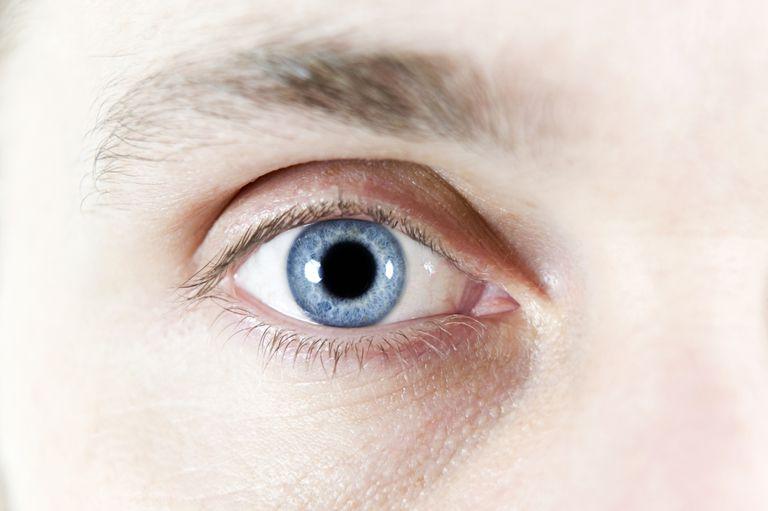 Human eye Human eye. Close-up of a mans eye.