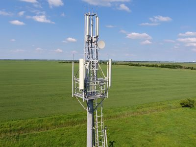 Cellular tower. Equipment for relaying cellular and mobile signal